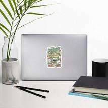 Coconut Crunch Original Sticker Design Original Cartoon Sticker - $7.99+