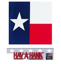 USA Made TEXAS BANDANA STATE FLAG Lone Star Bandanna Scarf Scarve Head Wrap - $14.63