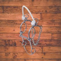 Greg Darnall Connie Combs Twisted Mouth Rope Nose Combination Bit image 1