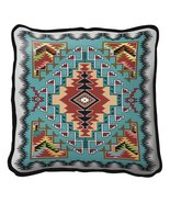 Painted Hills Turquoise Throw Pillow - $39.95