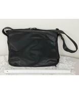 Vintage Black Crossbody Bag Purse by Designer Linda Dano for Laptop etc. jp - $34.64