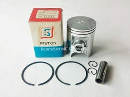 Yamaha RX100 Piston+Ring+Pin+Clips Set Size OS 0.50 (Diameter = 52.50mm.) New - $29.39