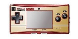 F/S NEW Novelty Faceplate skin for Game Boy Micro Famicom 2P Pad Club Ni... - $364.20