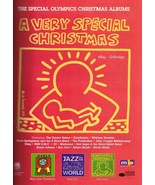 1996 Artist Keith Haring Drawing Art Christmas Album Vintage Print Ad 1990s - $7.13