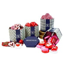 Happy Fathers Day Gift Tins - Chocolate Hearts, Sweetheart Mix, Nonparei... - $25.33