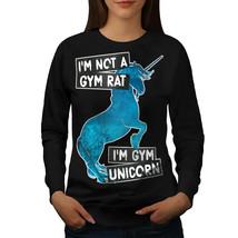 Gym Unicorn Stamina Jumper Power Magic Women Sweatshirt - $18.99