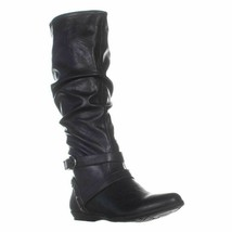 Cliffs by White Mountain Fairfield Women Riding Slouch Boots Size US 7.5M Black - £20.00 GBP