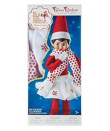 the Elf on the Shelf Claus Couture Clothes Outfit Snowflake Skirt & Scar... - $29.95