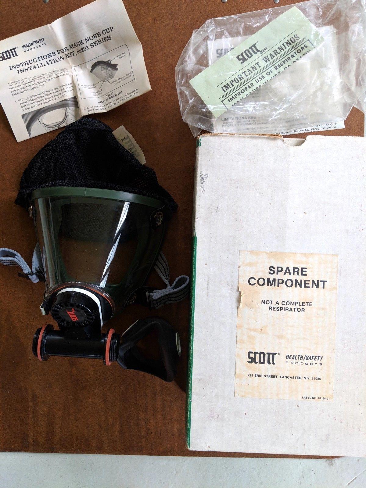 Avon SCBA SR10-09 Pressure Breathing Regulator 4240-01-373-0613 Firefighters