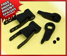 "Adj 1-3"" Front Keys + 2"" Rear Shackles Lift Kit For 98-12 Ford Ranger XL... - $112.39"