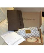 Louis Vuitton Eva Damier Azur Clutch Cross Body Bag Authentic Made in Fr... - $1,138.50