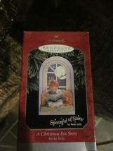 HALLMARK KEEPSAKE ORNAMENT 1998 A CHRISTMAS EVE STORY BRAND NEW IN BOX - $9.99