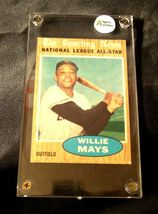 Willie Mays Baseball Trading Card # 395 Outfield- Nash AA19-BTC4006 Vintage Coll image 3