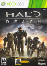 Halo Reach Xbox 360 Great Condition Complete Fast Shipping - $8.94