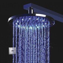 LED Chrome Automatic Cold Touchless Sensor Shower Faucet - $277.15