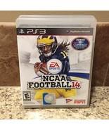 NCAA Football 14 (Sony PlayStation 3 PS3, 2013) Complete ~ Very Rare! - $81.26