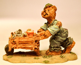 Boyds Town Village - Timmy Ray - Miniature Figure - $11.47