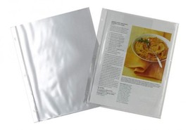 Meadowsweet Kitchens Plastic Full Page Recipe Protectors for 3 ring binders - $11.95