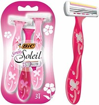 BIC Simply Soleil Woman's Razor - 1 Package