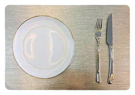 Set of 6 PVC Dinning Room/Easy to Clean/Waterproof Fashion Placemats 11.... - £37.70 GBP