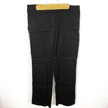 Ann Taylor LOFT (Z2-04) Women's Sz 8 Black Marisa Pants Straight Leg Str... - $10.62