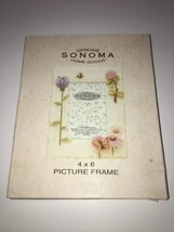 "Flowers  Photo Frame 4""x6"" Photo Sonoma Genuine Home Goods . - $12.99"