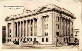 Weld County Court House Greeley Colorado 1910s RPPC Real Photo postcard - $12.38