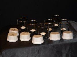 Butter Warmer Ceramic Cups Holders Seafood Crab Lobster Burner Table Set AA19-15 image 7
