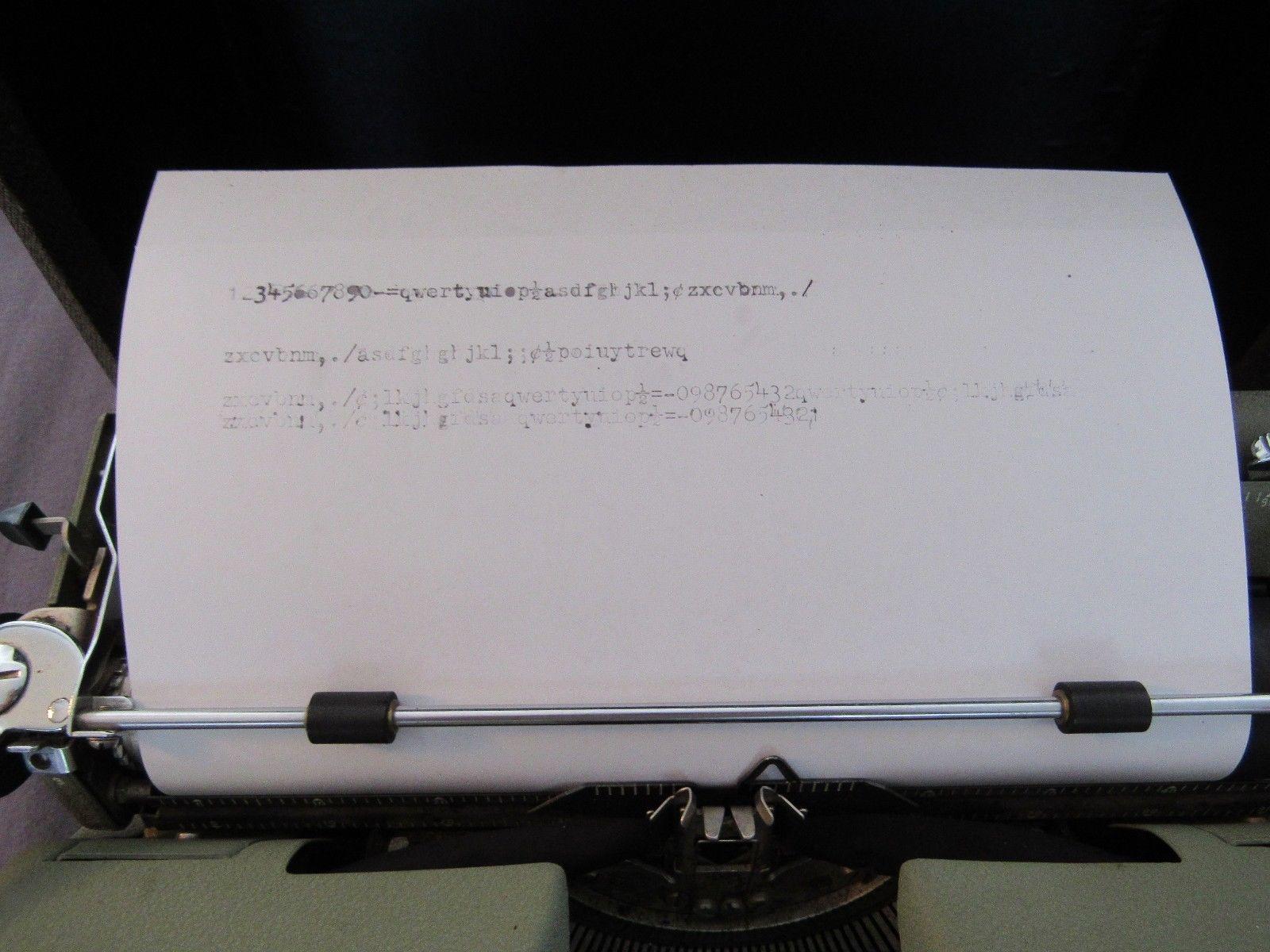 Manual Typewriter Remington Quiet-Riter With and 12 similar