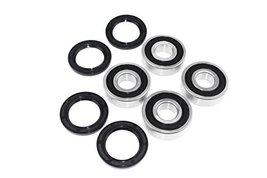 YAMAHA YFM400 FA KODIAK 44 ATV Bearings&Seals kit both sides Front Wheel... - $19.59