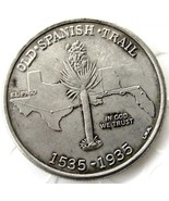 1935 Old Spanish Trail Half Dollar USA American Commerative Casted Coin - $11.99