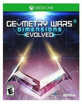 New Geometry Wars 3: Dimensions Evolved (Microsoft Xbox One, 2016) Sealed