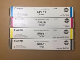 Genuine Canon GPR-51 CMYK Toner for iR Advanced C250 C350 - FedEx 2Day Air!! - $246.51