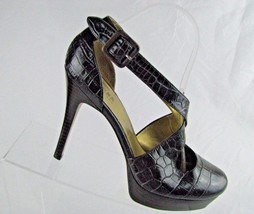 Guess By Marciano Womans Black Strappy High Heels Sz 8 1/2 M - $19.46