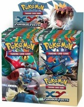 Pokemon TCG XY Furious Fists 6 Booster Pack Lot 1/6 Booster Box - $37.99