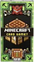 Minecraft Card Game Mattel Brand  Preowned Complete Very Good - $14.36