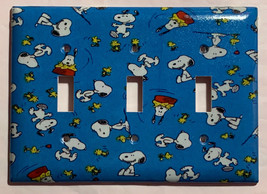 Peanuts Snoopy Woodstock Light Switch Power Outlet Wall Cover Plate Home Decor image 5