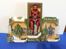 Halo Action Figure Lot Spartan Mk Vii And Extras - $18.95