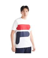 Fila Alvan Men's T-Shirt White-Peacoat-Cred LM911348-101 - $19.95