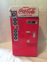 Coca-Cola Cookie Jar Bottle Coke Machine replica - $17.06