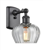 Fenton 1 Light Sconce - 516-1W-BK-G92 - $168.30