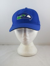 Seattle Seahawks Hat (VTG) - Classic Logo by Twins - Wool Blend Snapback - $35.00