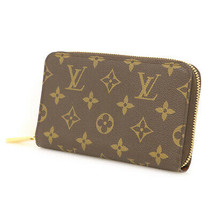 LOUIS VUITTON Zippy Compact Bi-Fold Wallet Round Zipper M40499 Used Very... - $855.92