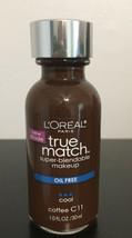 L'oreal Paris True Match Cool Coffee C-11 . 1.oz NEW! - $5.50