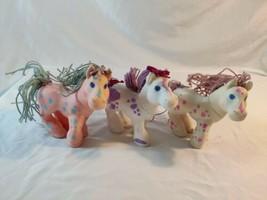 "CPK Cabbage Patch Kids Crimp n Curl Ponies by Hasbro 1992 Lot 3 Sugar Magic 6"" - $42.08"