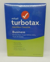 Intuit TurboTax Business Federal Returns Plus Federal E-File for Windows - 2018 - $46.60