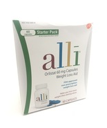 alli Orlistat 60 mg Capsules Weight Loss Aid starter 60ct exp 2021 - $20.00