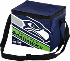 Seattle Seahawk 6 Pack Cooler Lunch Bag - $17.39
