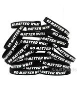 50 No Matter What Wristbands - Motivation Inspiration Recovery Bracelets... - $39.48