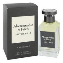 Abercrombie & Fitch Authentic Cologne By Abercrombie & Fitch 3.4 oz Eau ... - $48.64